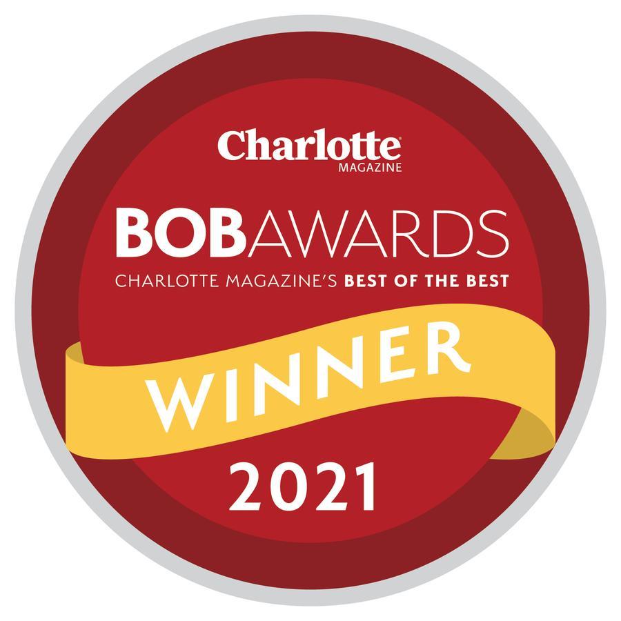 Charlotte Magazin | BobAwards Best of the Best | 2021 WInner